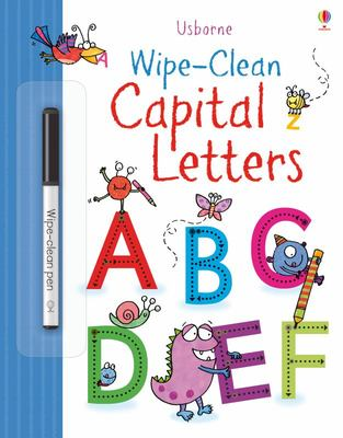 Wipe-Clean Capital Letters