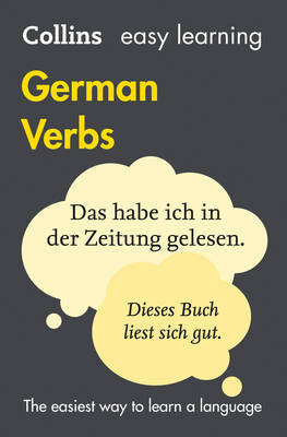 Collins Easy Learning German Verbs : with Free Verb Wheel