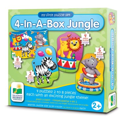 4 in a Box Jungle Puzzle Set (Step Ups)