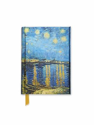 Van Gogh Starry Night Over the Rhone (Foiled Pocket Journal)