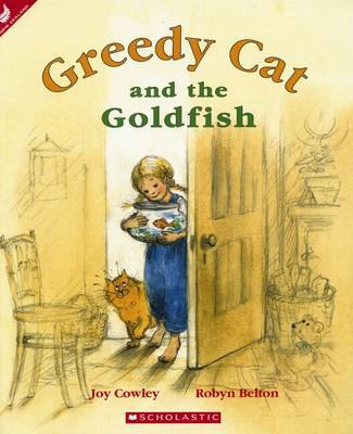 Greedy Cat and the Goldfish