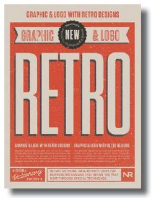 New Retro - Graphic Logo with Retro Designs