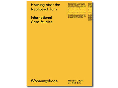 Housing After the Neoliberal Turn - International Case Studies