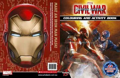 Captain America Civil War Colouring and Activity Book