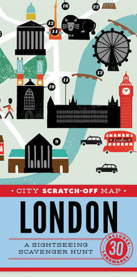City Scratch-off Map: London: A Sightseeing Scavenger Hunt
