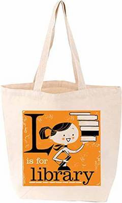 L is for Library (Tote Bag)