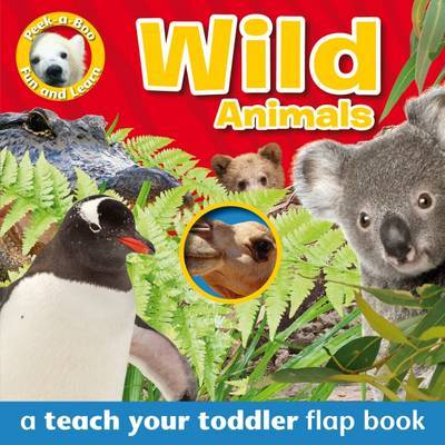 Wild Animals (A Teach Your Toddler Flap Book)