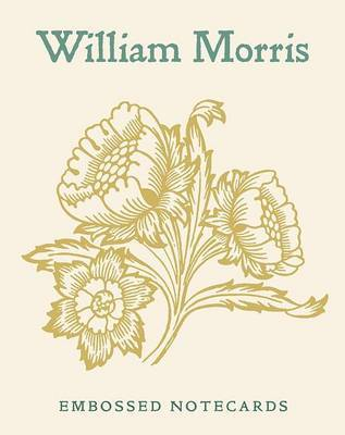 William Morris Embossed Boxed Notecards