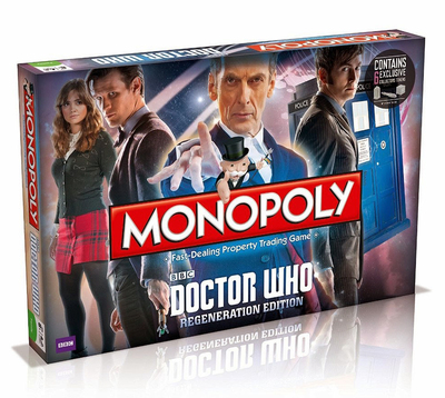 Monopoly Dr Who Regeneration