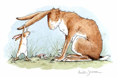 Blank Card Guess How Much I Love You Anita Jeram (MG-319018)