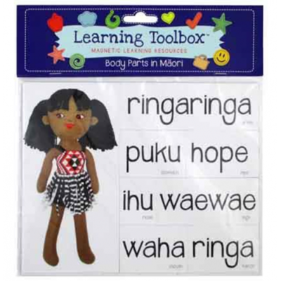 Body Parts in Maori (Magnetic Learning Resources)