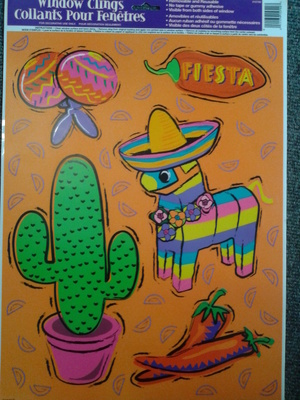 Fiesta Window Clings
