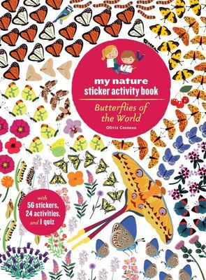 Butterflies of the World: My Nature Sticker Activity Book
