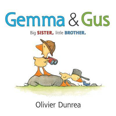 Gemma & Gus (Board Book)
