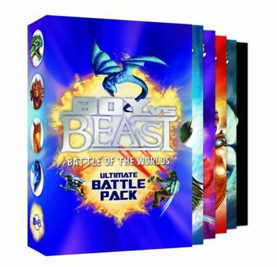 Boy Vs Beast 1-4: Battle of the Worlds Pack