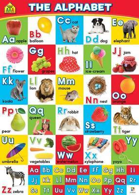 The Alphabet (School Zone Wall Chart)
