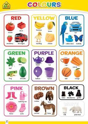 Colours (School Zone Wall Chart)