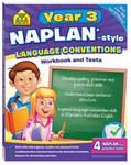 Naplan-Style Workbook: Year 3 Language Conventions Sz