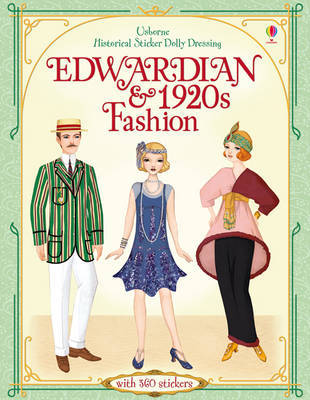 Edwardian & 1920s Fashion (Usborne Historical Sticker Dolly Dressing)