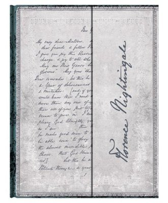 Florence Nightingale Letter of Inspiration mini lined
