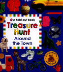 Around the Town Treasure Hunt (A Fold Out Book)