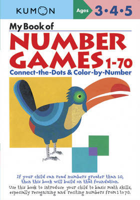 My Book of Number Games 1-70 (Kumon)
