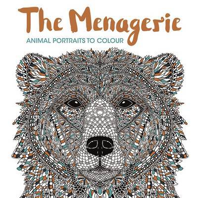 Menagerie : Animal Portraits to Colour