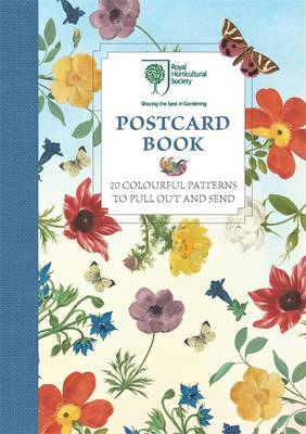 RHS Postcard Book: 20 Colourful Patterns to Pull Out and Send