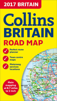 2017 Collins Map of Britain