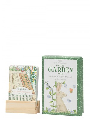 Up the Garden Path - 24 Cards to Inspire the Soul (A Boxed Set of 24 Affirmation Cards)