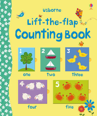 Counting Book (Usborne Lift-the-Flap Board Book)
