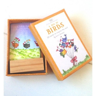 A Box of Birds A Boxed Set of 24 Affirmation Cards to Inspire the Soul