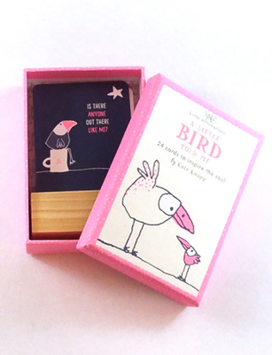 A Little Bird Told Me: 24 cards of Inspiration (A Boxed Set of 24 Affirmation Cards)