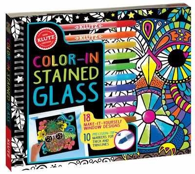 Color-in Stained Glass (Klutz)