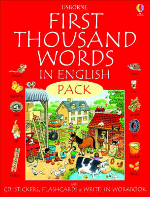 First Thousand Words in English (Pack with CD)