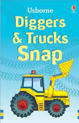 Diggers and Trucks Snap (Usborne Snap)