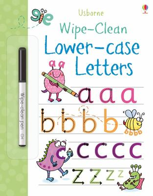 Lower-Case Letters (Usborne Wipe-Clean)
