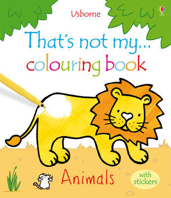 Animals (That's Not My) Colouring Book