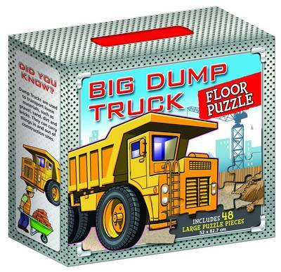 Big Dump Truck Floor Puzzle 48 Piece