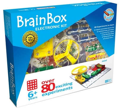 Brain Box Mini Electronic Kit: Over 80 Exciting Experiments