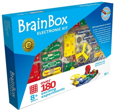 Brain Box Absolute Electronic Kit : Over 180 Exciting Experiments