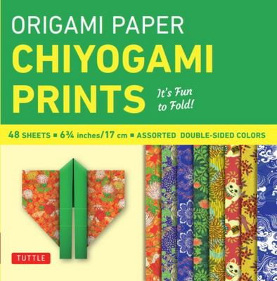"Origami Paper - Chiyogami Prints - 6 3/4"" - 48 Sheets: It's Fun to Fold! (Tuttle Origami Paper)"