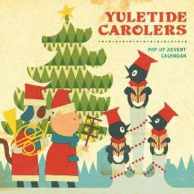 Yuletide Carolers Pop-Up Advent Calendar