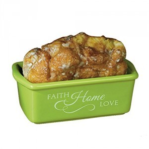 Blooming Blessings Mini Loaf Pan: Faith Home Love