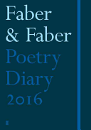 Faber Poetry Diary: Dark Blue: 2016