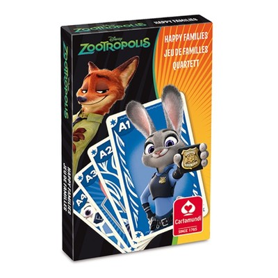 Zootopia Card Game, Happy Families