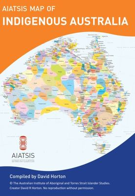 AIATSIS Map of Indigenous Australia (Folded)