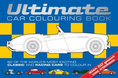 Ultimate Car Colouring Book