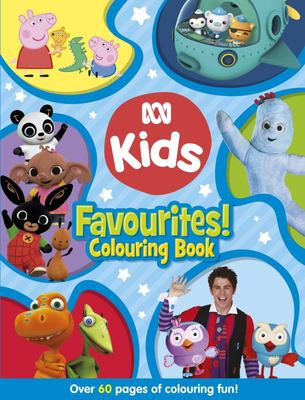ABC KIDS Favourites! Colouring Book (Blue Edition)