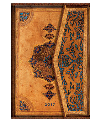 2017 Diary Safavid Mini WTO Horizontal Paperblanks